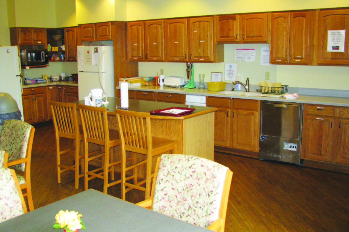 Family Kitchen (North Wing)